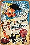 Cimily Pinocchio Poster II Zinn Retro Zeichen Vintage