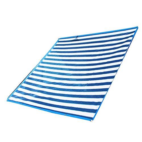 Wangcfsb Zonnebeschermingsnet van polyethyleen zonweringweefsel, isolerend net, ventilatierooster voor balkonplanten, tuinmeubelen, trampoline, hout, auto, camping tuin