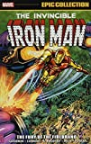 IRON MAN EPIC COLLECTION FURY OF FIREBRAND