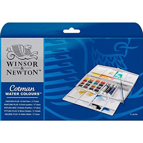 Winsor & Newton Aquarela Cotman, Painting Plus, 19 Cores