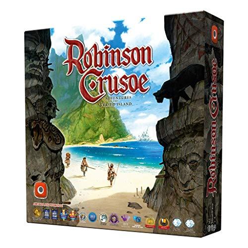 Portal Publishing 361 Robinson Crusoe: Adventures on The Cursed Island