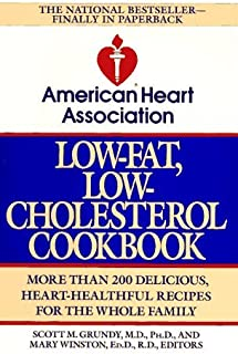 By American Heart Association - American Heart Association's Low-Fat, Low Cholesterol Cookbook (Unabridged Edition) (1992-01-15) [Paperback]
