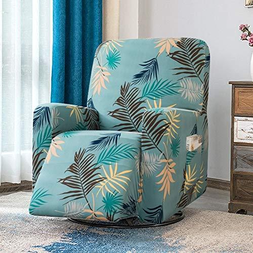 weichuang Funda de sofá jacquard elástica para silla reclinable para sala de estar, funda de sofá (color: una funda de silla).