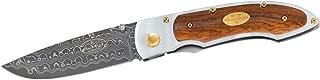 Fallkniven Pd Folder 3.0 in Damascus Blade Ironwood Handle