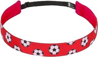 Non Slip Headbands for Girls | BaniBands Sports Headband | Unique No Slip Headband Design | Sports Themes for Soccer, Field Hockey, Softball, Volleyball, Marathon, Triathlon