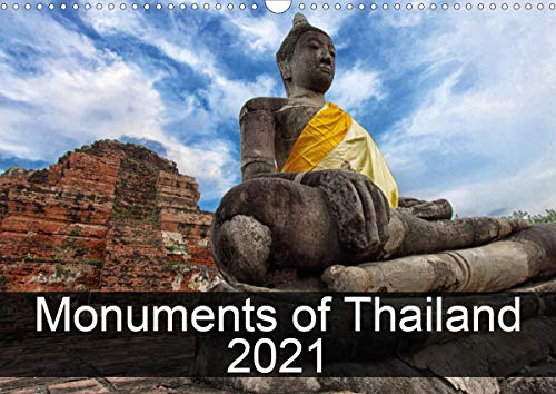 Monuments of Thailand 2021 (Wall Calendar 2021 DIN A3 Landscape)
