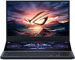 Asus ROG Zephyrus Duo 15 GX550LXS-HC055T Gaming Laptop (Gray) - Intel i9-10980HK 2.4Ghz, 32GB RAM, 2048GB SSD,Nvidia Geforce RTX2080 Super 8GB, 15.6 inches UHD, Windows 10, Eng-Arb-KB