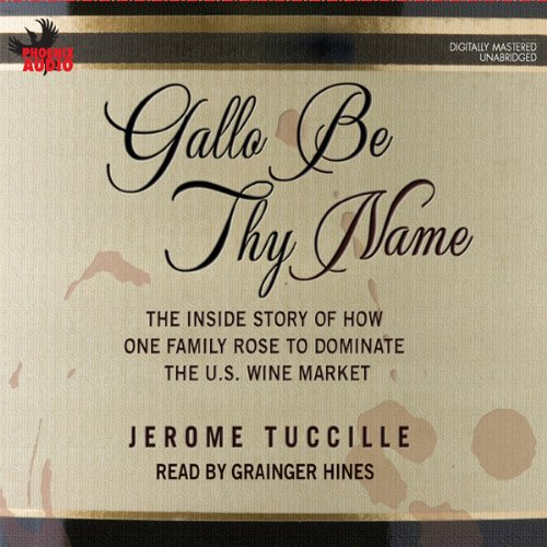 Gallo Be Thy Name audiobook cover art