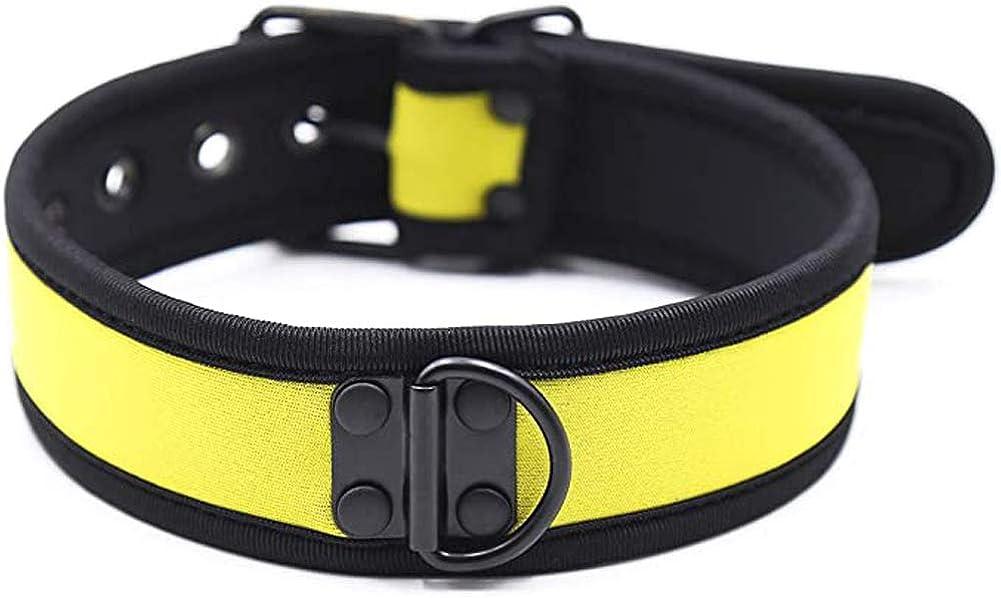 HOT DREAM Neoprene Puppy Custom Choker Collar for Men Women