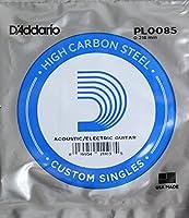 DADDARIO 【10個セット】D'Addario PL0085弦 バラ弦×10本 0019954211035