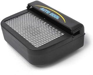 M&QSPS Ecológica Aire Acondicionado Mini Coche Solar fácil de Instalar Salida de Aire del Coche Fresco Aire Acondicionado Ventilador de ventilación