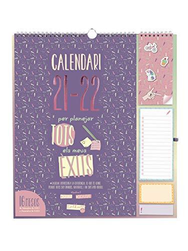 Finocam - Calendario de Pared Talkual Plus 16 meses 2021 2022 340x380 Mes Vista Catalán
