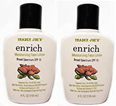Trader Joe's Enrich Moisturizing Face Lotion Pack of 2