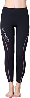 DIVE & SAIL Women's 1.5mm Neoprene Wetsuit Pants Diving Snorkeling Scuba Surf Canoe Pants