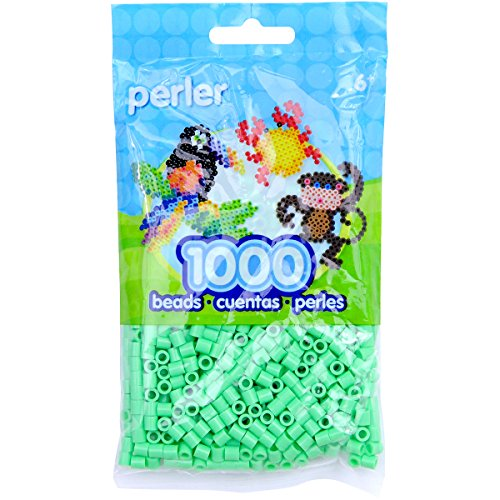 Perler Beads Fuse Beads for Crafts, 1000pcs, Green