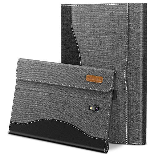 INFILAND Samsung Galaxy Tab A 10.5 Case, Front support Cover with Business Pocket Compatible with Samsung Galaxy Tab A 10.5 inch(SM-T590/T595) 2018, Auto Sleep/Wake,Gray