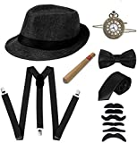1920s Accessories for Men 7 Pack...