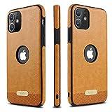 mikki Funda iPhone 11 Cuero y Carcasa Protectora antigolpes con un Parachoques deTPU Suave...
