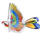 Dilwe RC Flying Birds, RC Aigle Oiseau Volant Télécommande Jouets Enfants(Bleu)