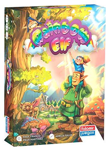 Falomir- Rainbow Elf Juego de Mesa, Multicolor (30045)