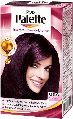 Poly Palette Intensiv-Creme-Coloration 880 Aubergine Stufe 3