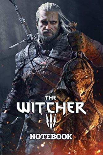 The Witcher 3 Notebook: Notebook|Journal| Diary/ Lined - Size 6x9 Inches 100 Pages