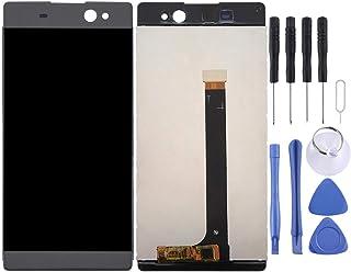 CHENYOUWEN Repuestos para celulares Pantalla LCD y digitalizador Reemplazo Completo del ensamblaje Reparación de LCD Roto LCD for Sony Xperia XA Ultra / C6 (Graphite Black) (Color : Color1)