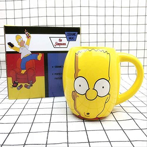 nobrand Simpsons Simpson Donuts Hollow Cartoon Doll Ceramic Milk Coffee Cup