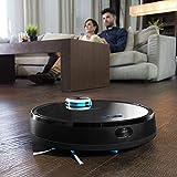Cecotec Roboterstaubsauger der Serie Conga 3090, 2000 Pa,kompatibel mit Alexa und Google Home, Anwendung mit Karte, Staubsaugen, Fegen, Schrubben und Wischen, 10 Modi, programmierbar, - 6
