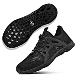 NYZNIA Women's Water Shoes Barefoot Quick Drying Sports Shoes for Beach Swim Lightweight Slip On Walking Casual Shoes