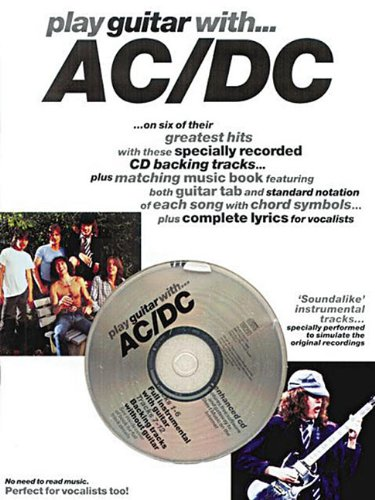 Partition : AC/DC play guitar with + CD