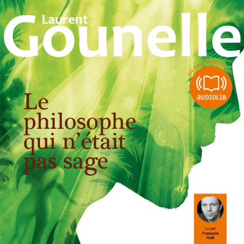 Le philosophe qui n'était pas sage  audiobook cover art