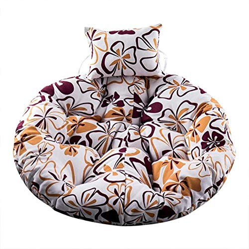 HJUYT Swing Hanging Basket Seat Cushion Thicken Hanging Chair Pad For Home Living Rooms Hanging Beds Rocking Chair Seats New,G