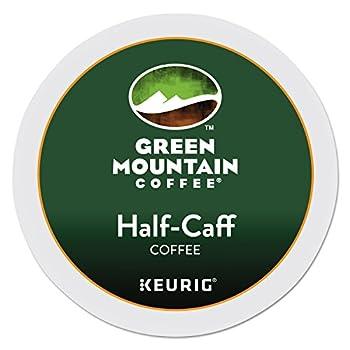 Keurig Green Mountain Coffee Half-Caff 24 K-Cup Packs for Keurig Brewing System  Packaging May Vary