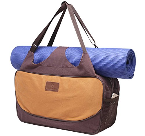 #DoYourYoga Bag for Yoga/Fitness/Sport »Mahavir« from made of waterresistant materials -...