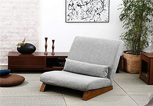 Stoel LKU Vloer vouwen eenpersoons slaapbank moderne stof Japanse woonkamer meubels zonder armleuningen, grijze kleur