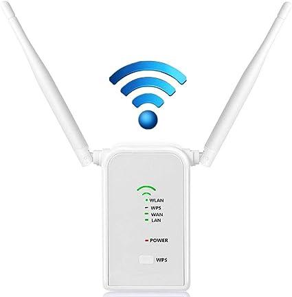 CAPTIANKN Wi-Fi Extender 300Mbps repetidor Punto de Acceso ...