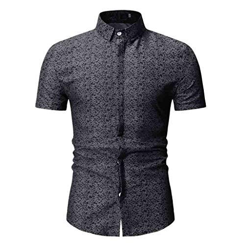 catmoew Schnelltrocknende beiläufige militärische Reine Farben-Lange Hülsen-Shirt-Oberseiten der Art- und WeiseHerren Lässiges Top