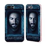 Head Case Designs Oficial HBO Game of Thrones Daario Naharis Caras 2 Caso de Guardabarros Compatible con Apple iPhone 7 Plus/iPhone 8 Plus