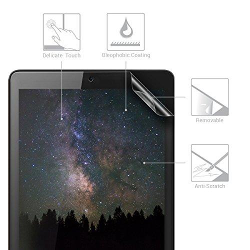 kwmobile 2x Huawei MediaPad T3 7.0 Folie - Full Screen Tablet Schutzfolie für Huawei MediaPad T3 7.0 entspiegelt - 2