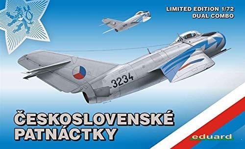 エデュアルド 1/72 MiG15/ MiG15bis デュアルコンボ 2機入り リミテッド エディション プラモデル