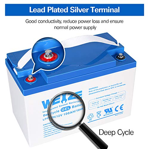 Deep Cycle Rechargeable Battery for Trolling Motor