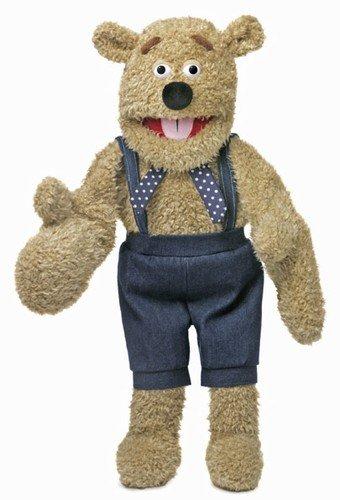 28' Silly Bear w/ Mitten Hands, Ventriloquist Style, Animal...