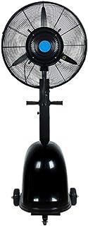 ventilador De Piso De Humidificación por Aspersión Cabezal De Sacudida De Enfriamiento por Nebulización Industrial, Tanque De Agua De 49 L, 3 Velocidades, para Restaurante De Oficina Industrial