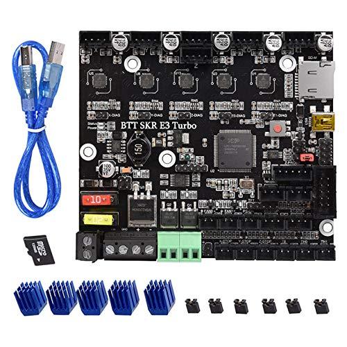 PoPprint BTT SKR E3 Turbo 32-bit control board equivalent to SKR V1.4 Turbo with TMC2209 Stepper Motor Driver for Ender3