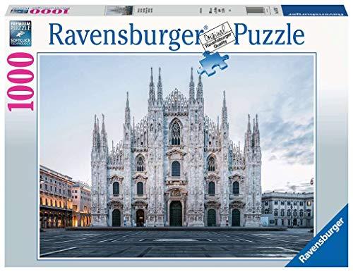 Ravensburger Puzzle, Puzzle 1000 Pezzi, Duomo di Milano, Puzzle per Adulti, Puzzle Paesaggi, Puzzle Ravensburger - Stampa di Alta Qualità