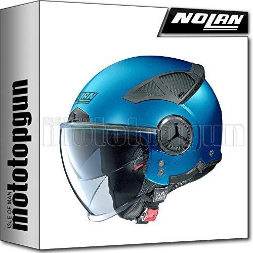 NOLAN CASCO MOTO JET N33 EVO CLASSIC FLAT SAPPHIRE BLU 011 TG. S