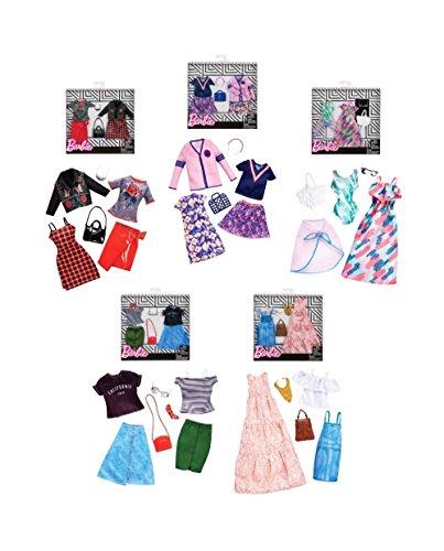 Barbie Pack 2 Modas Surtido/Modelos Aleatorios (Una unidad)(
