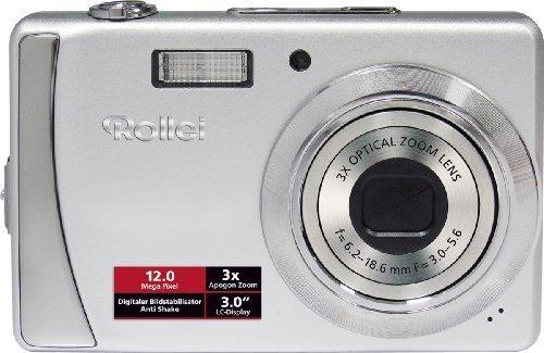 Rollei Compactline 202 - Cámara Digital Compacta 12 MP - Plata