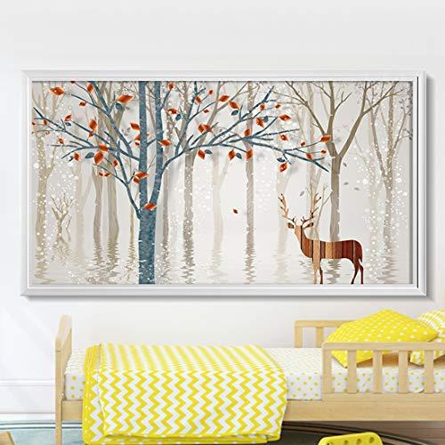 GIYL Elektrische verwarming heater plat paneel muur warm Far infrarood verwarming voor de slaapkamer woonkamer 1200 W